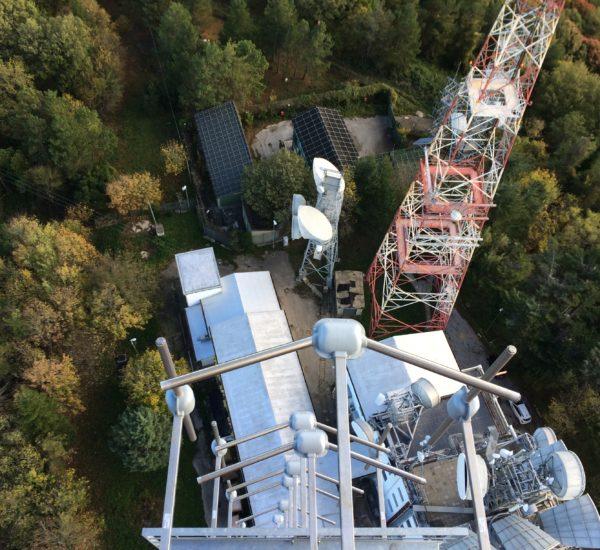 Monte Sambuco station FM antenna system
