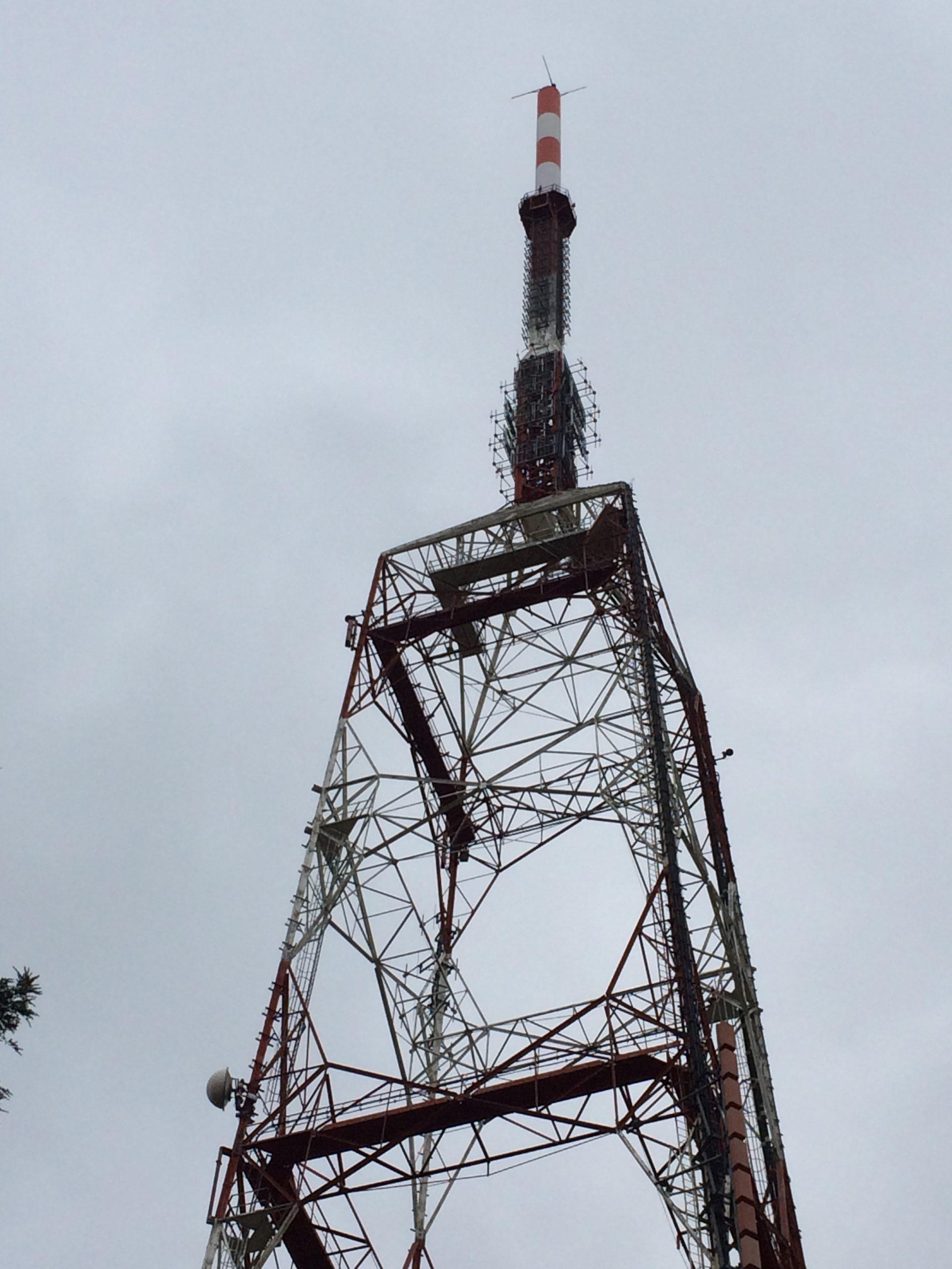 New FM antenna system at Martina Franca station, Martina Franca, Italy