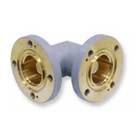 Flanged Coaxial Elbows