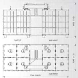 UC/FM/LB4-20/F – FM Directional Filter Type Combiner