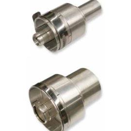 Unflanged Coaxial Adaptors Zero Cut