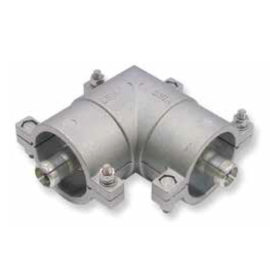 Unflanged Coaxial Elbows Zero Cut